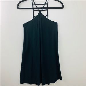 EXPRESS Spaghetti Strap Short Dress Black XS
